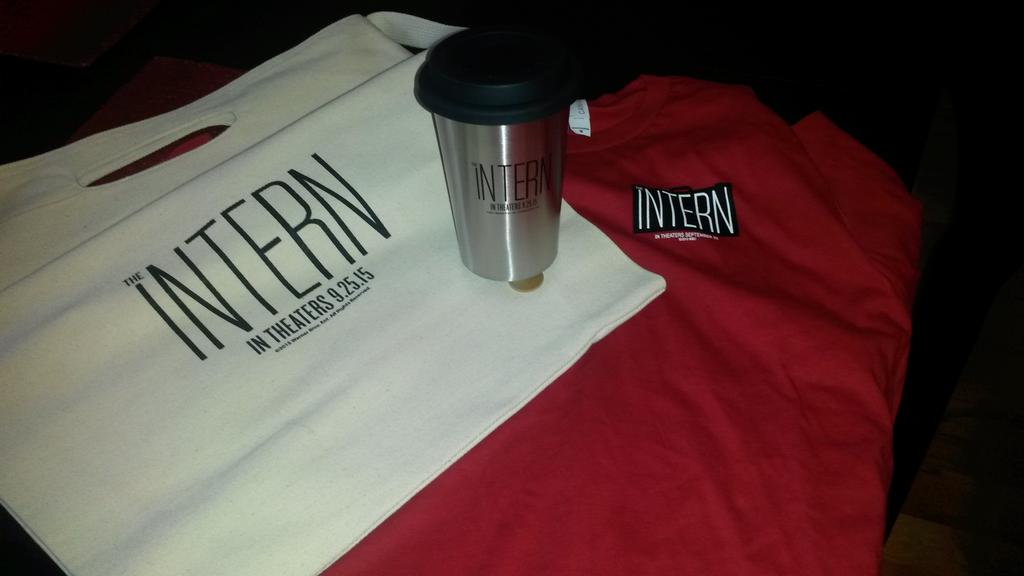 Win #TheIntern Prize Pack! Retweet and be following @CinemaJaw for a chance to win. #Giveaway Tuesday. http://t.co/ZvRAQmPEyX