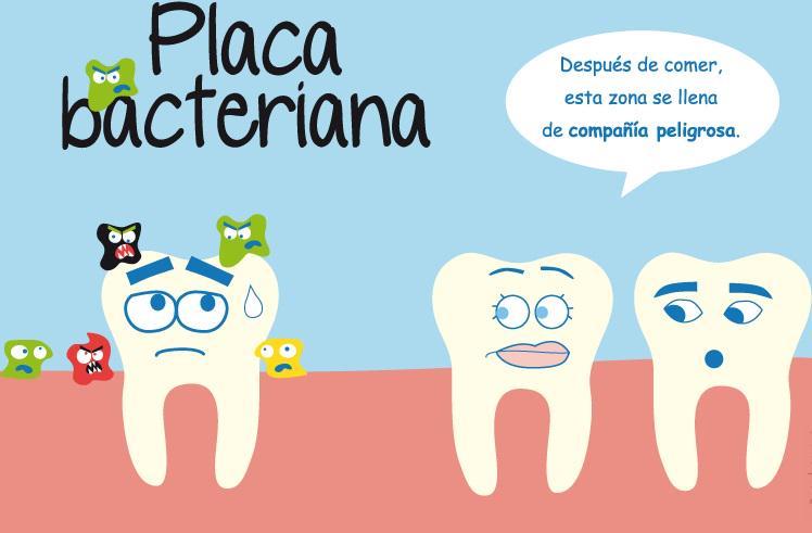 Resultado de imagen de placa bacteriana