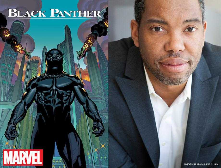 Meet the new BLACK PANTHER writer, @tanehisicoates: http://t.co/4PqV0d12VO http://t.co/09jEmqEQK0