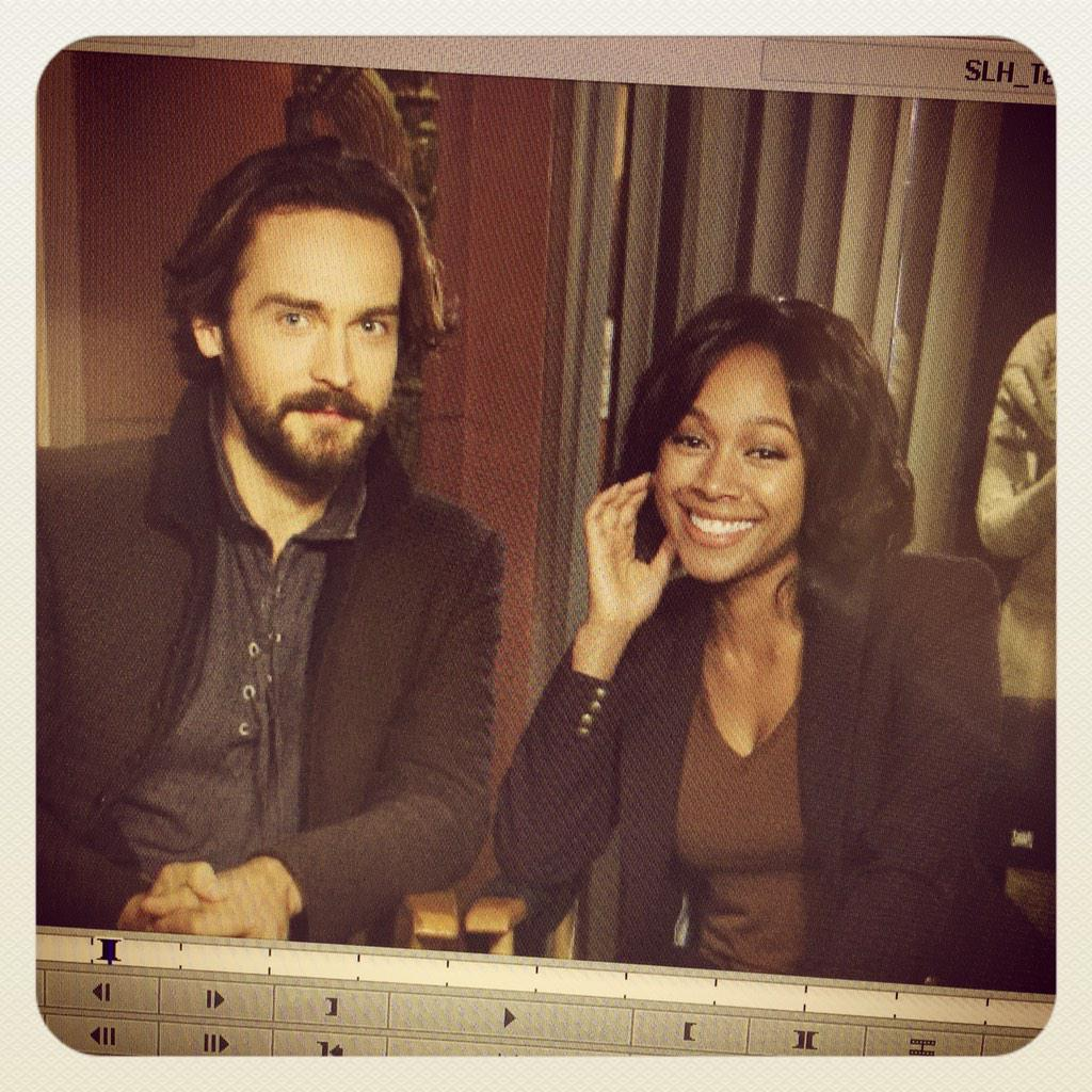 For the #SleepyHeads... Working on a Tease In Ten for Season 3!! Here's a peak... #SleepyHollow @AlanRast http://t.co/WSMA3EvtW0