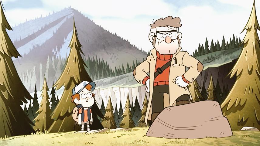 Gravity Falls Temporada 02 Capitulo 17 - Dipper y Mabel vs. El Futuro