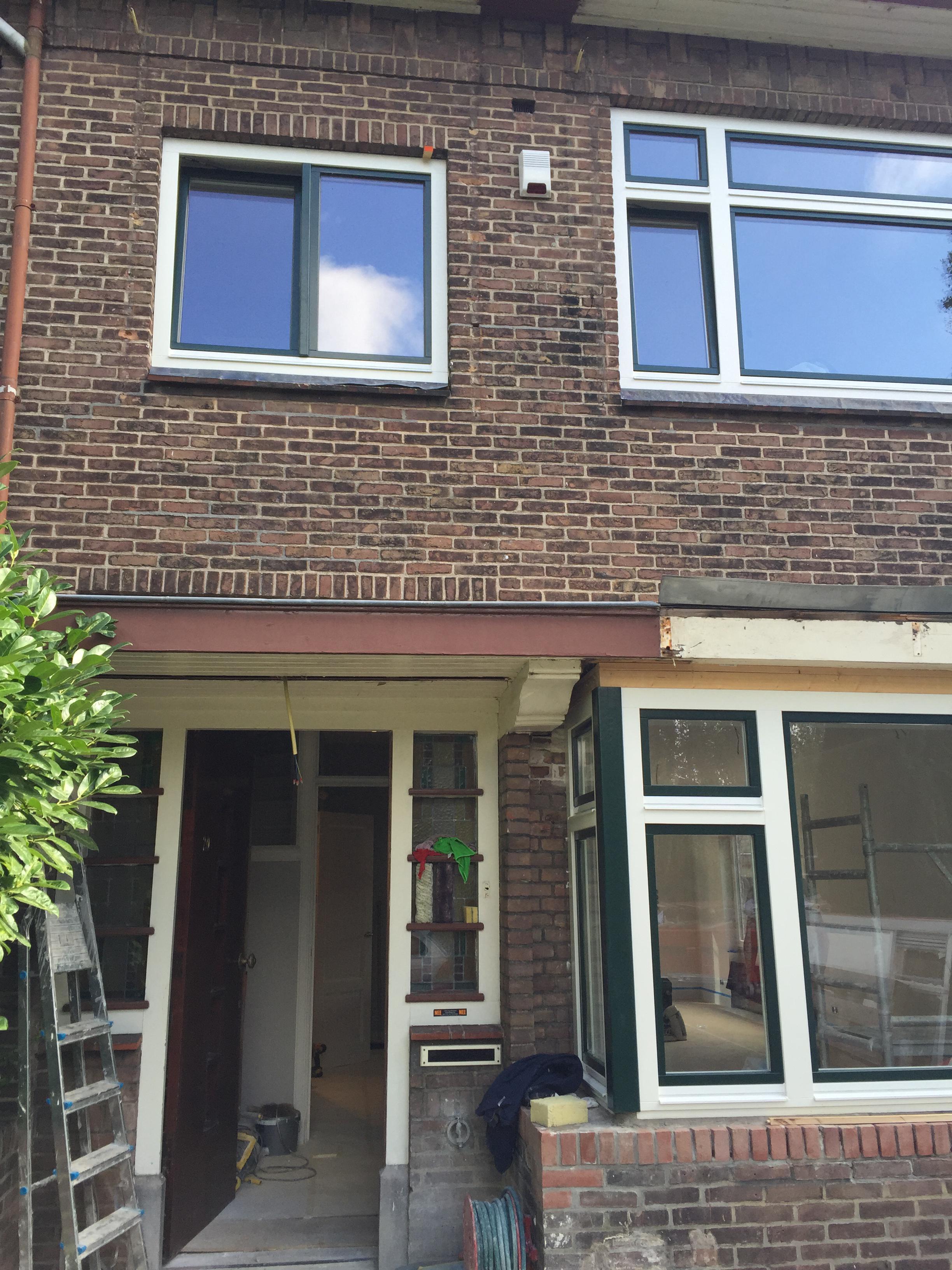 een woonhuis beveiligd met een Jablotron 100 alarmsysteem in Voorburg.