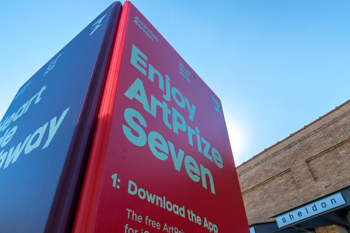 #ArtPrize7 begins TOMORROW at noon! Visit us in #GrandRapids over the next 3 weeks | http://t.co/2eNVJR1Gfy http://t.co/feDV5w5c3U
