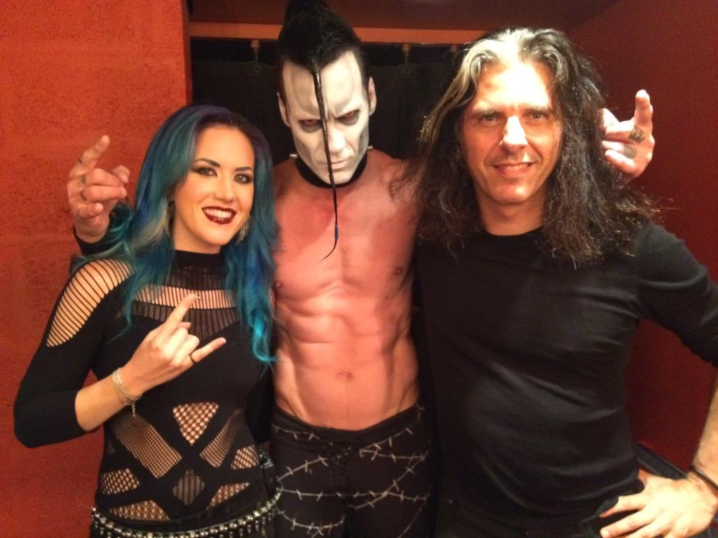 "Alissa White Gluz On Twitter Congratulations To: Alex Skolnick On Twitter: ""4) Rocking Out W The Awesome"