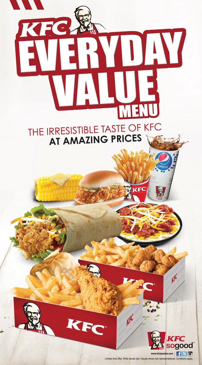 Kfc price list jamaica : One madison restaurant