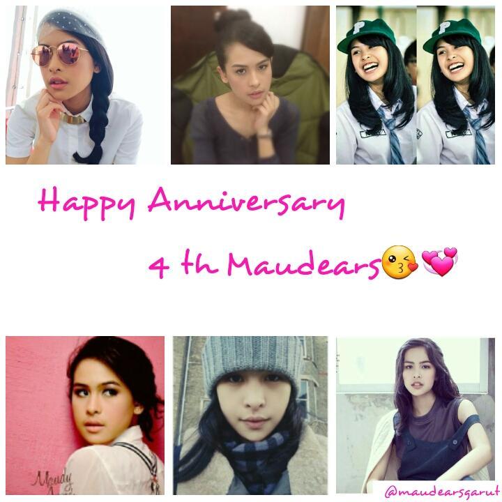 Happy Anniversary 4th Maudears @maudyayunda #maudears pic.twitter.com/sXJkcXkHTn