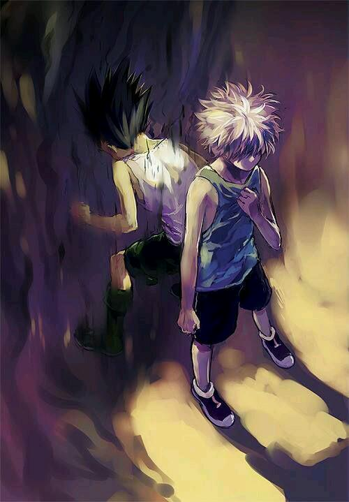 Anime Wallpapers 私 On Twitter Fan Art Killua Gon Anime