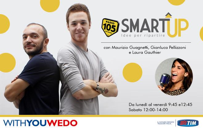 Risultati del Crowdfunding di Radio 105 Smart Up.