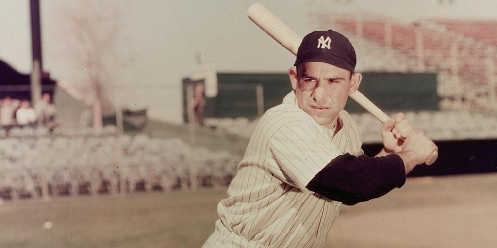 3-time MVP. 10-time World Series champion. American hero. Yogi. http://t.co/kiIKhuCIyc http://t.co/jN2J5nwpvx