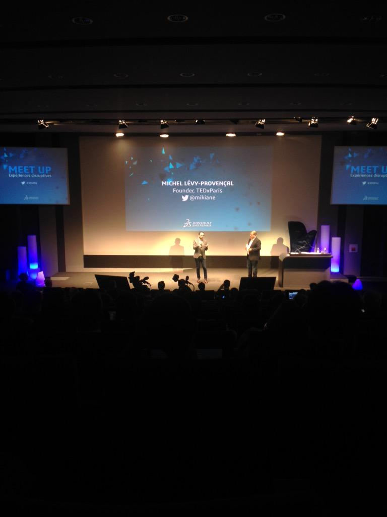 """Disruption is innovation democratization"" @mikiane @Dassault3DS #3dsmu http://t.co/1qPQcK5RYi"