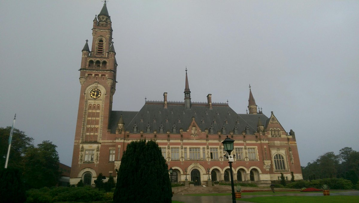 Checking in at International Court of Justice @CMCConference http://t.co/hVe77TB3Cc