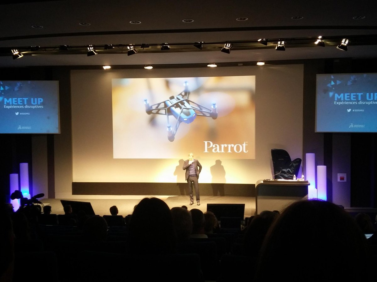 Disruptions drones can bring to agriculture, architecture... First rule : stop if everyone believes it #3dsmu http://t.co/c4zpJKDy4j