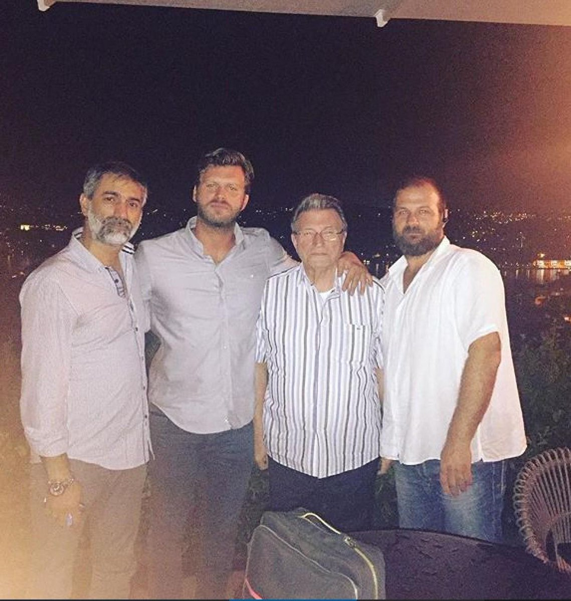 Kivanc Tatlitug Fans On Twitter KivancTatlitug With His Father Erdem And Brothers TugayCem