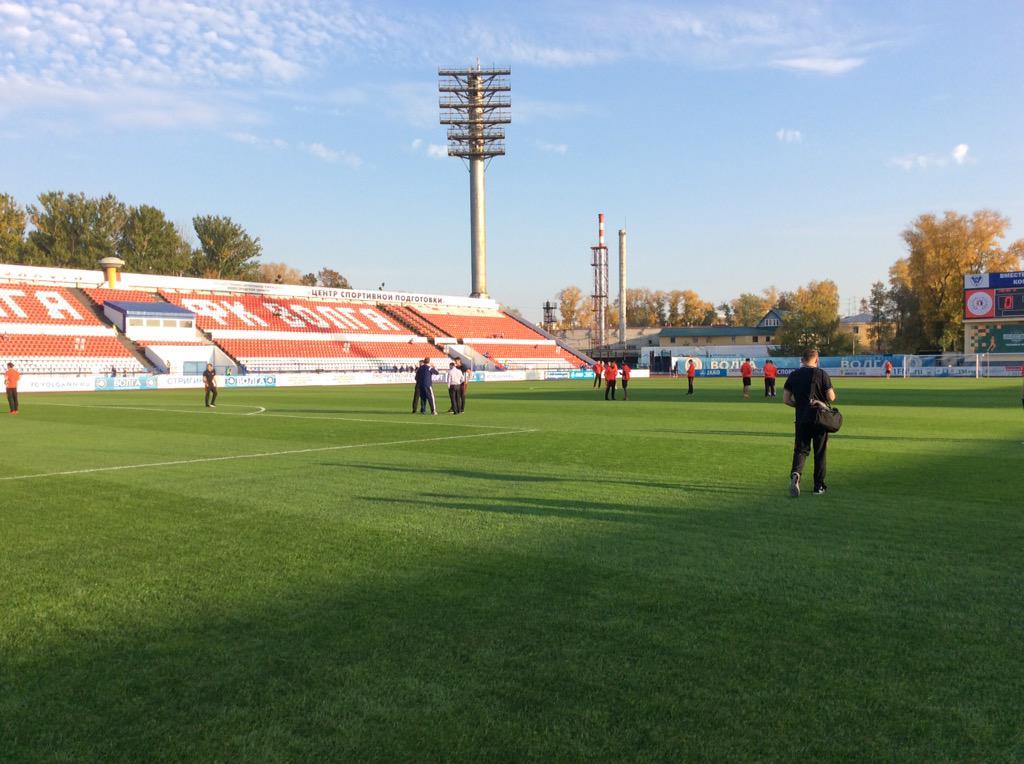 «Спартак» прибыл на стадион «Локомотив» в Нижнем Новгороде