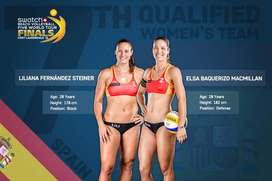Karim Levy On Twitter Beachvolleyball Team To Follow Swatchmajors Final In Fort Lauderdale Next Week Lili Elsa From Spain Vp