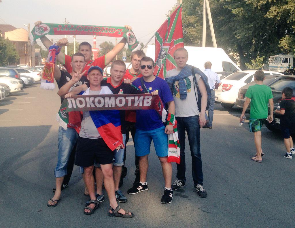 В Армавире «Локомотив» поддержат 300 фанатов