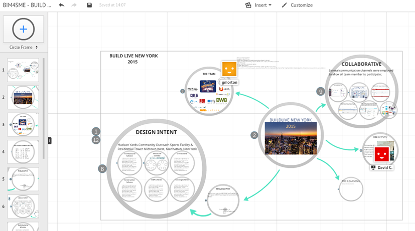 Another collaborative tool for #BIM4SMEGiants @Prezi #BuildNYLive with simultaneous editing http://t.co/HlhFaW29TS