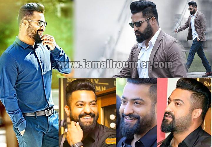 Jr Ntr Nannaku Prematho Movie First Look Ultra Hd Posters: Jr Ntr Latest Hairstyle Name
