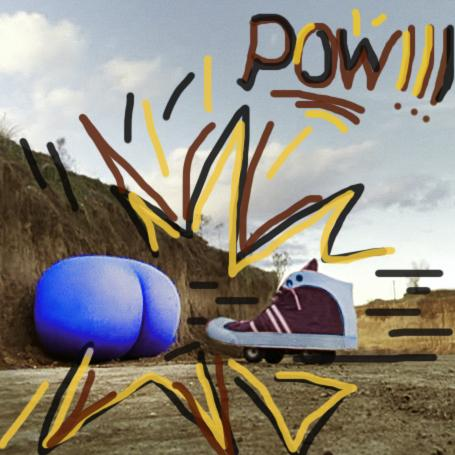 Being a photoshop pro , I've dedicated this masterpiece to my Villans , #BootsToBlueNosesAsses  :D ! #POW! http://t.co/jR7JtUcZji