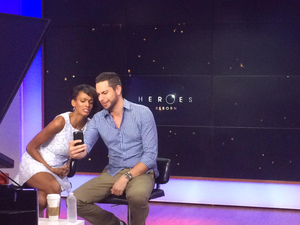 @heroes with @ZacharyLevi breakfast TV today - making really beautiful faces http://t.co/v3EjCEaUXv