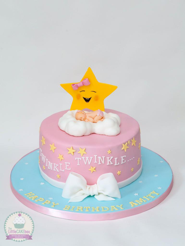 The Little Cake Box on Twitter A Twinkle Twinkle Little Star cake