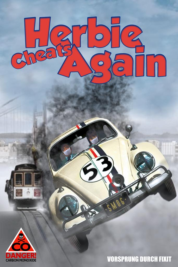 RT @haveigotnews: New Herbie movie unlikely to help Volkswagen's reputation. http://t.co/xeN3BO6RM5