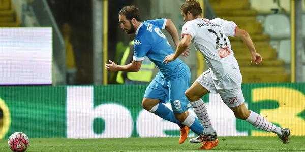 Hasil Napoli vs Carpi