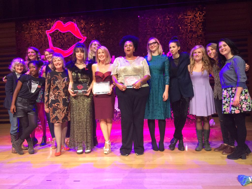 What a line up. We're so proud of all of the girls tonight, they absolutely smashed it #FWAwards2015 http://t.co/fUnfLPev4P