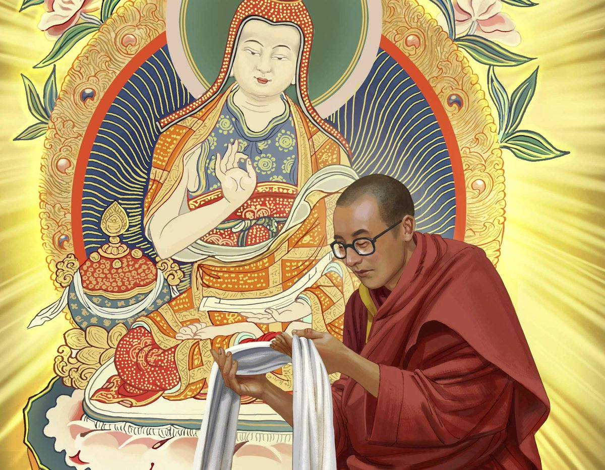 Become apart of history by supporting the #ManOfPeace Illustrated Life of Dalai Lama Project! https://t.co/pOWiQjlswU http://t.co/V5Fe4RWfaw