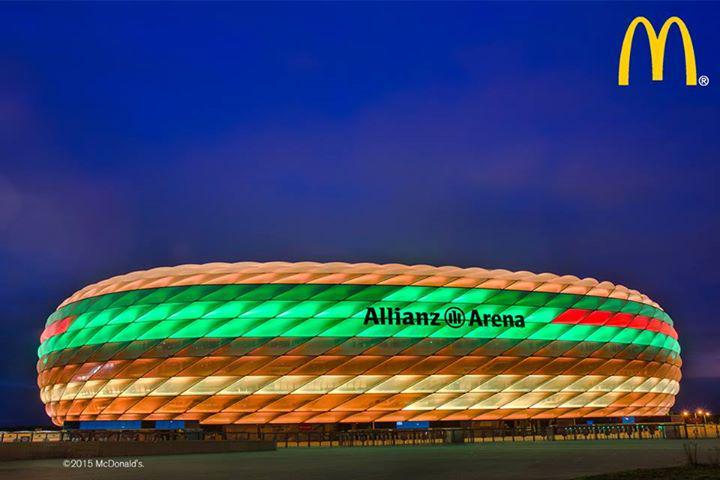 Niedlich Beleuchtung Allianz Arena Fotos - Die Besten Wohnideen ...