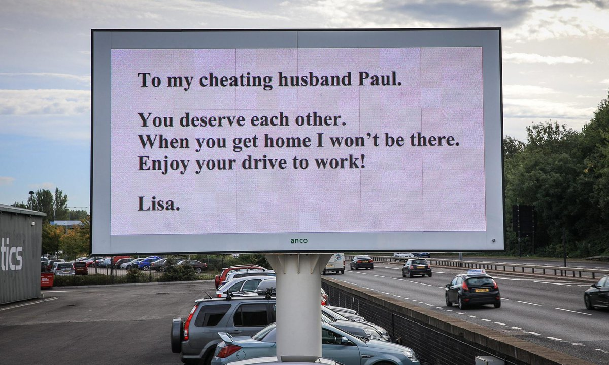 What if your husband cheats on you