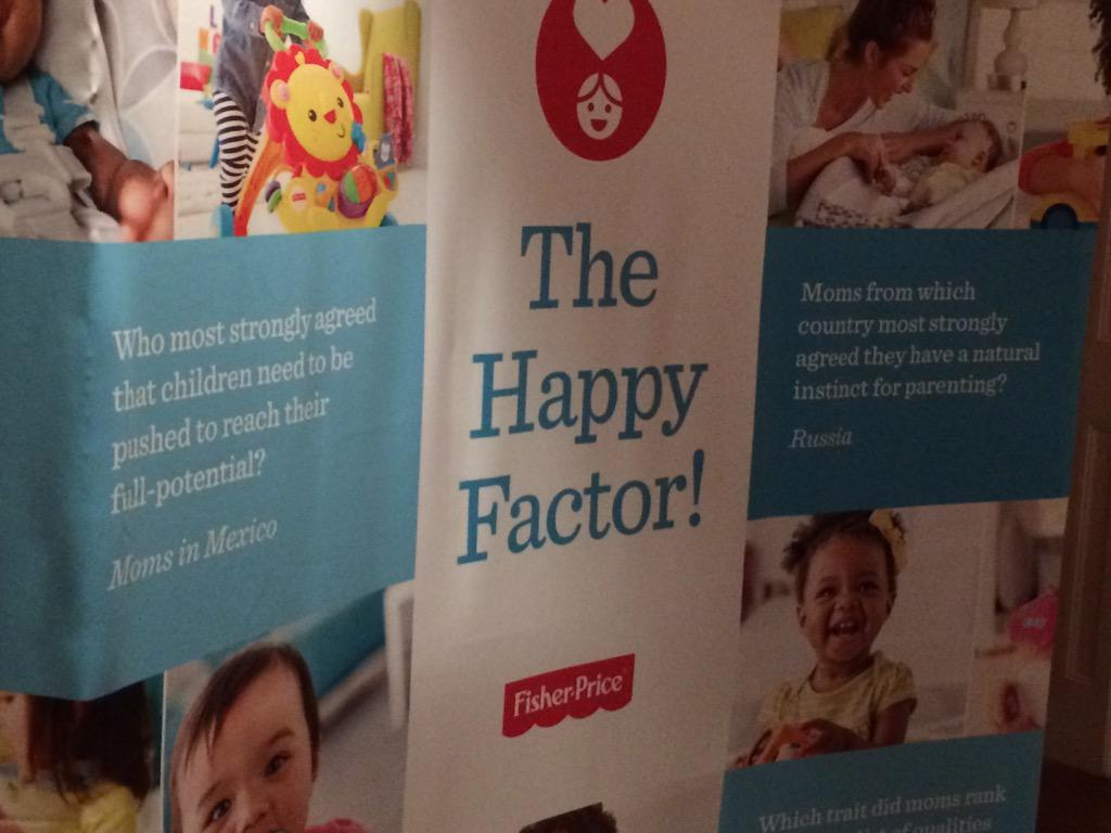 We are joining @FisherPrice for their #FPHappyFactor discussion this morning. Talking about the importance of IQ & EQ http://t.co/u2kz42k27r