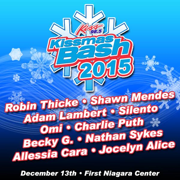 RT @KISS985BUFFALO: Kissmas Bash 2015 10 acts 2 stages ! Get your tickets now ! http://t.co/OvoGutqd97 #KMB15 http://t.co/ePEyVRbk8x
