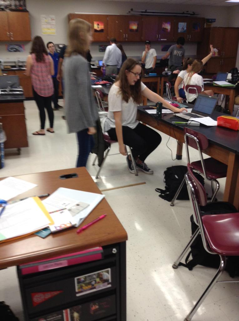 Physical Science is walking the line! #NAHSCommUNITY http://t.co/rObZ8Ivv7i