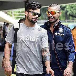 Virat Kohli Addicts On Twitter Can U See New Tattoo Of