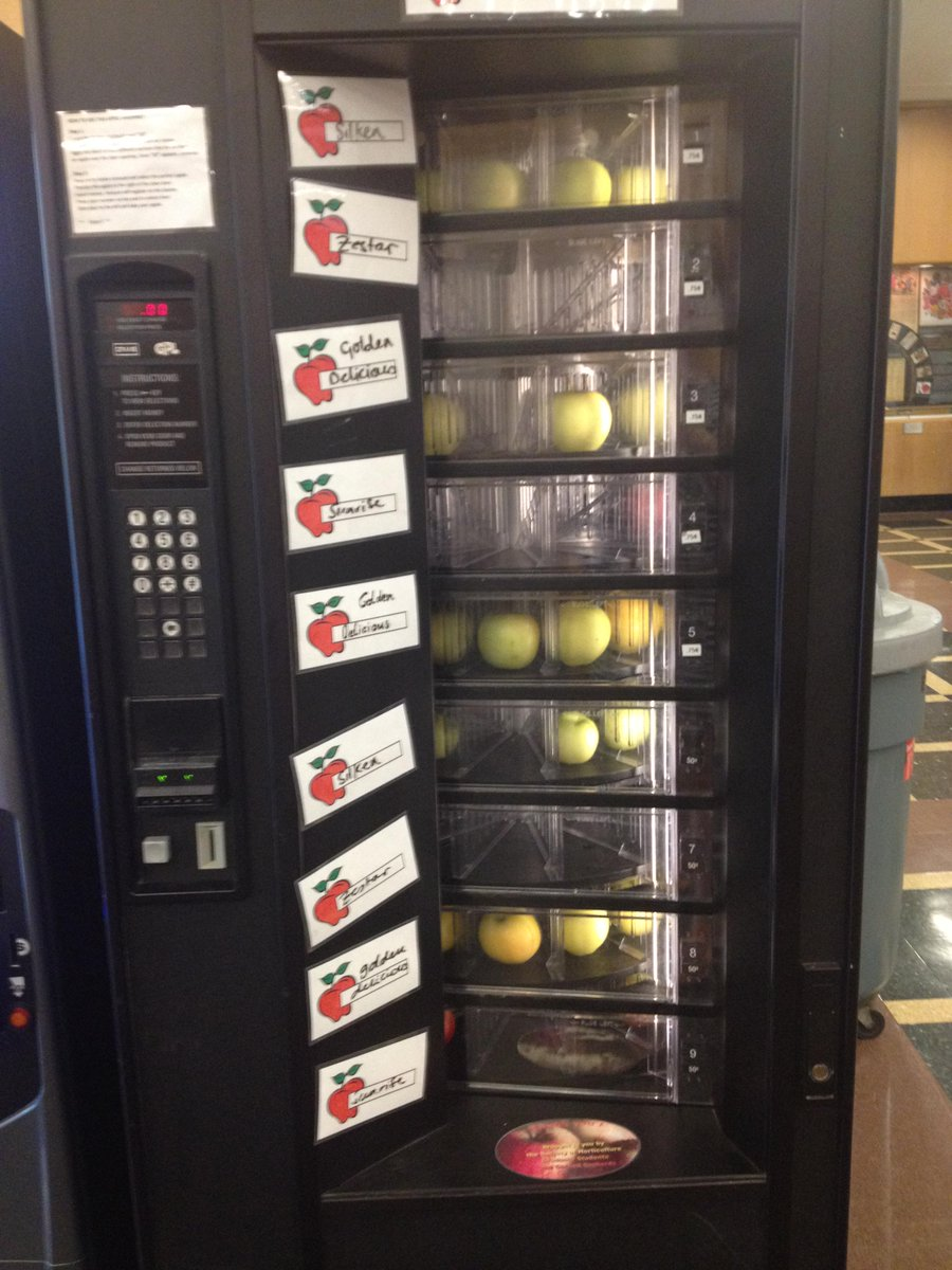 Cornell Cals On Twitter It Must Be Fall The Popular Apple Vending
