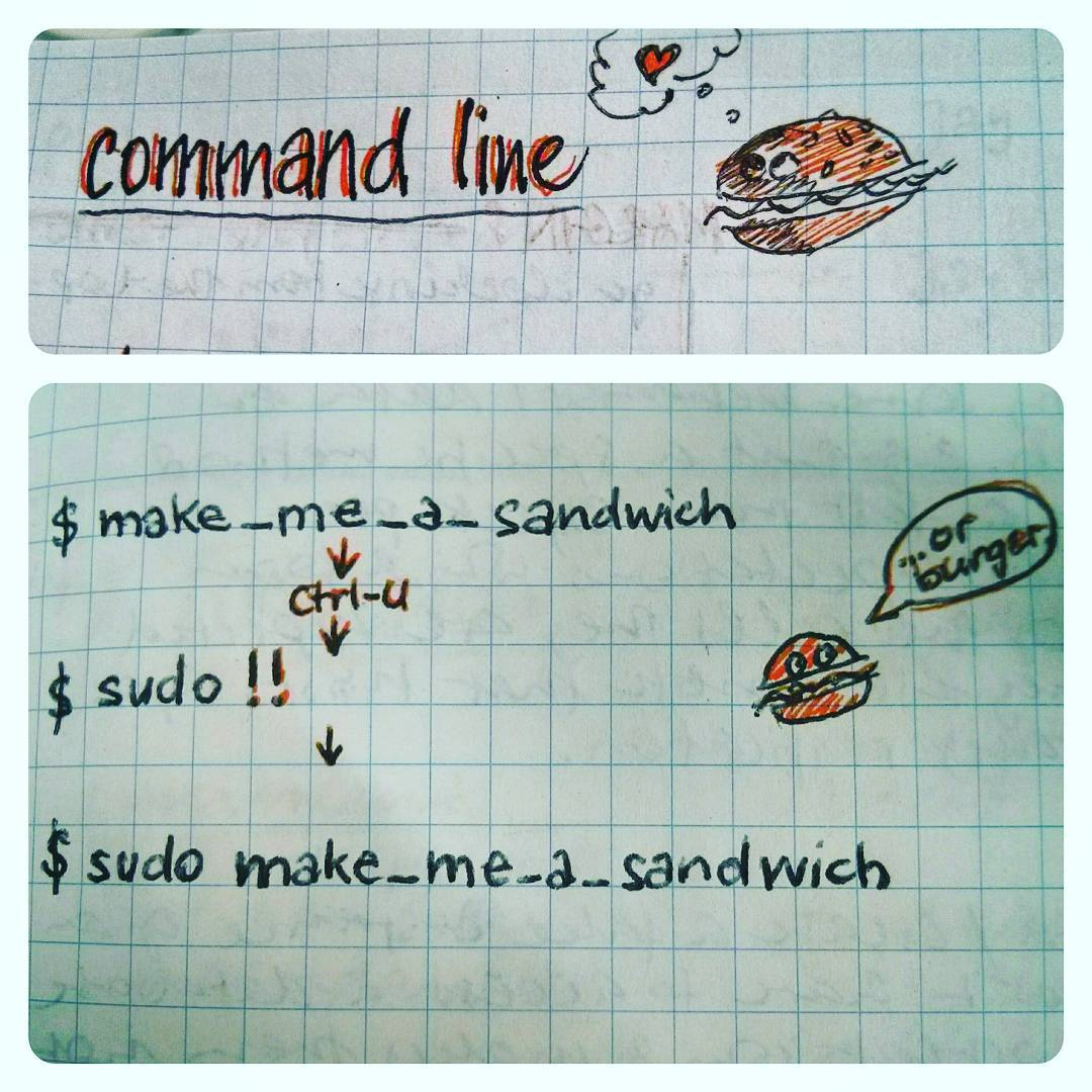 command line notes