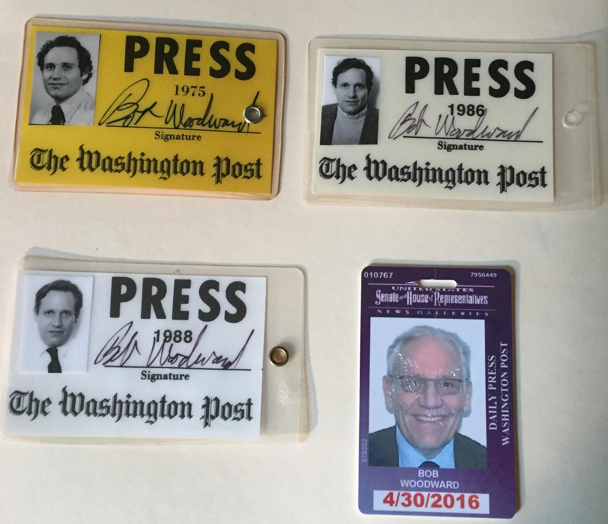 Press badges through the years:  #ThrowbackThursday http://t.co/Fg7tgXeLw4