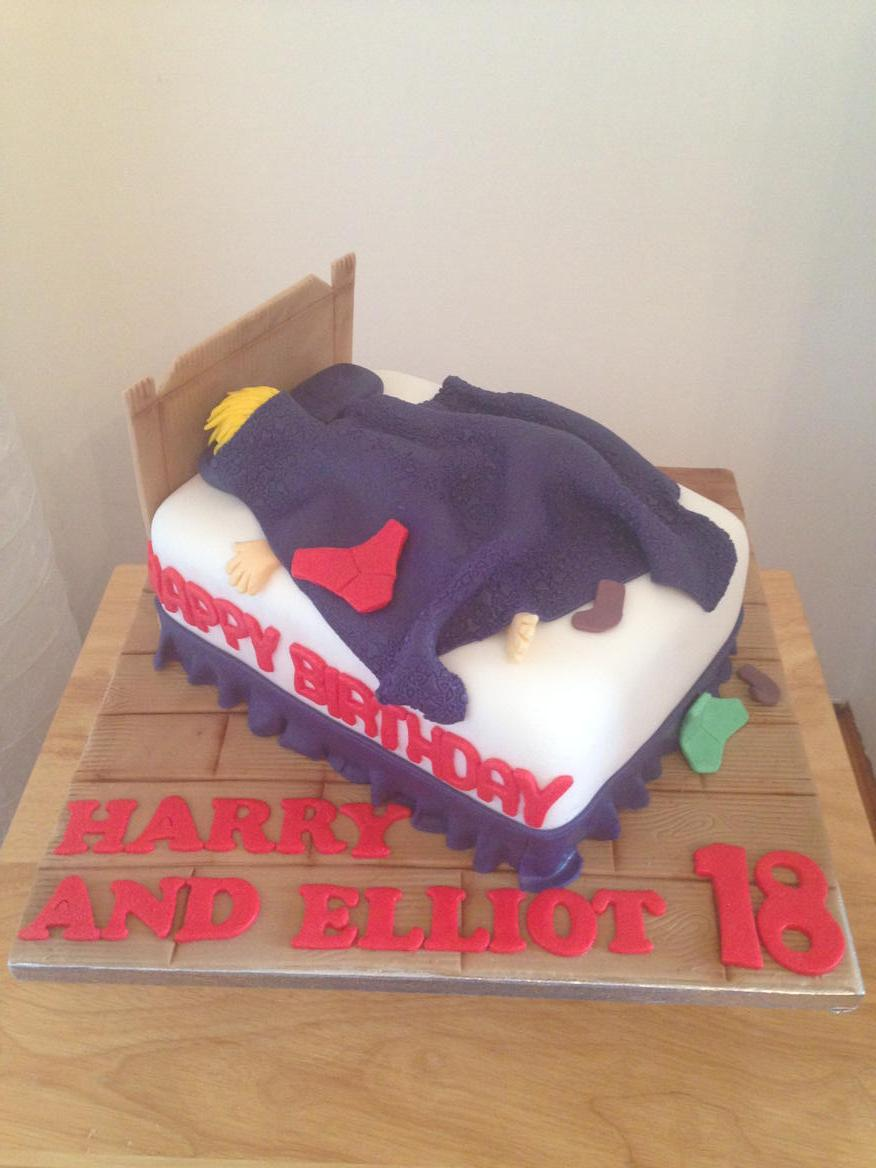 Bed Lazy Teenager Birthday Cake Cardiffpictwitter QeRN5SfyoN