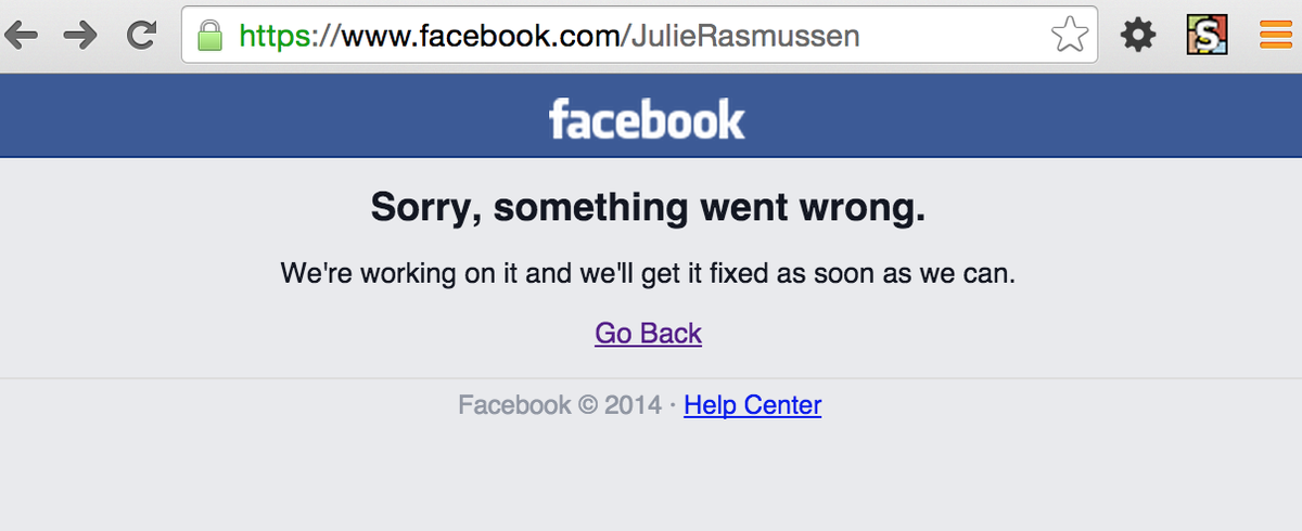 Free at last, Free at last, Thank God almighty we are free at last. #FacebookDown http://t.co/bIawTBWOVz