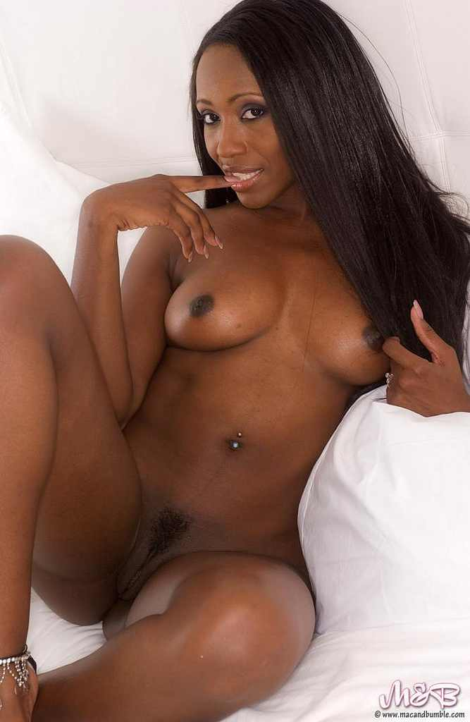 sexy ebony black