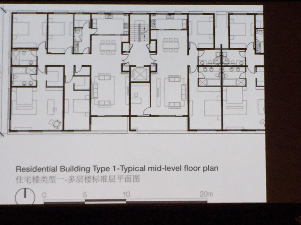 Mark Sheppard On Twitter Aaud15 Typical Apartment Layout In China Note Huge Size Dual Aspect And Only 2 Apartments Per Level Per Core Http T Co Fotvp0re7u