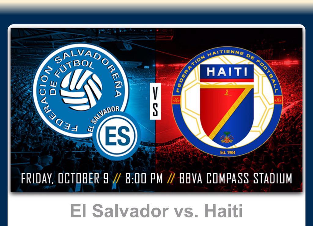 Juego amistoso el 9 de octubre del 2015 contra Haiti. CPsuOPLUAAANyqO