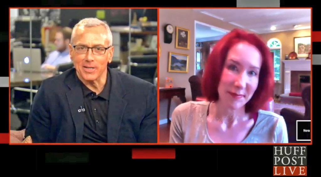 #ThrowbackThursday: This is #me, 1 year ago talking to @DrDrewHLN on @HuffPostLive.😃 #tbt  http://t.co/kzA9raZu1E http://t.co/Q1Z3Z1vEHd