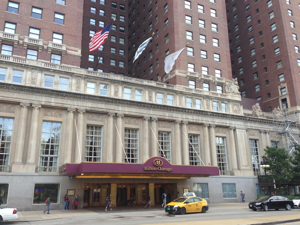Chicago Hilton: Location For Scenes In The Fugitive, Home