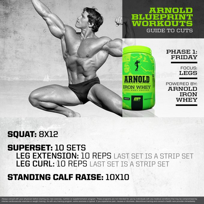 Musclepharm on twitter mp workout of the day arnold embedded malvernweather Gallery