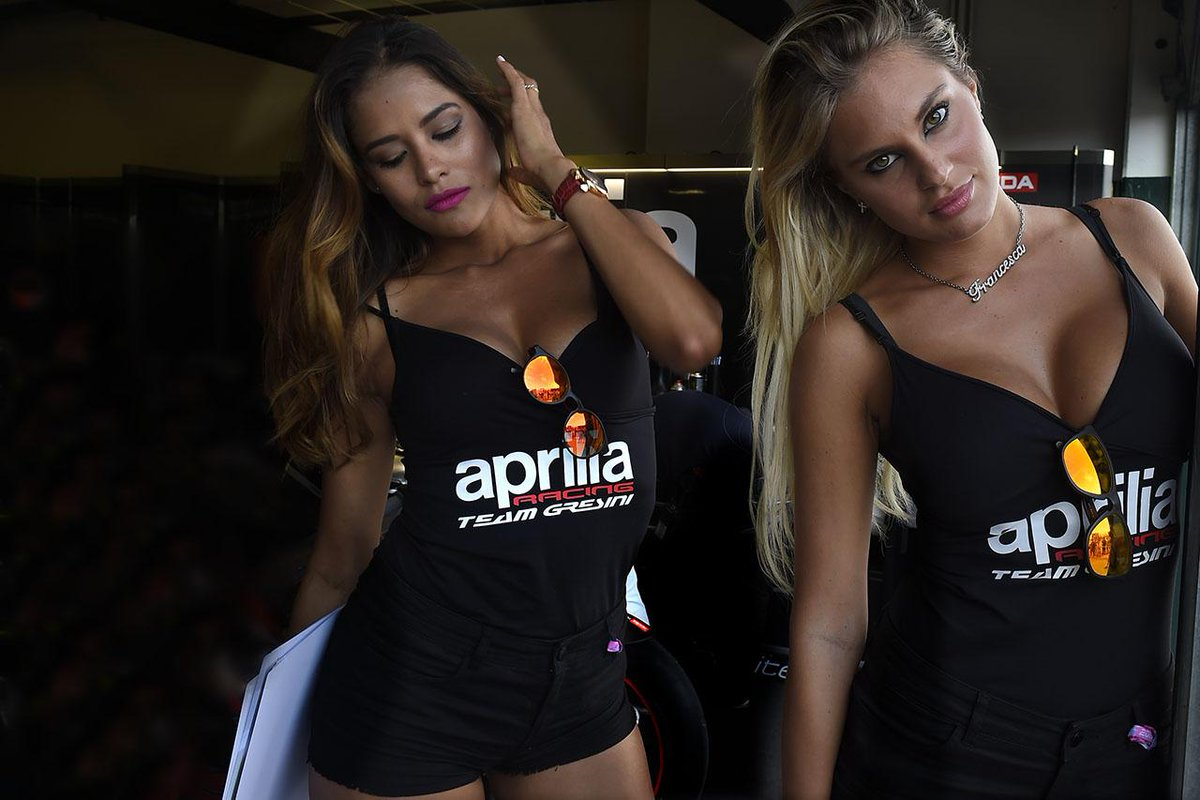 Paddock Girls MotoGP 2015.