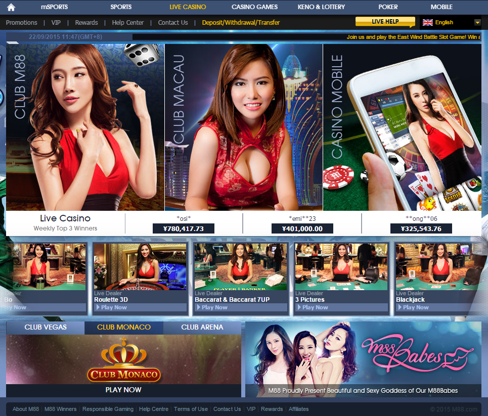 Image result for M88 casino and sportsbook