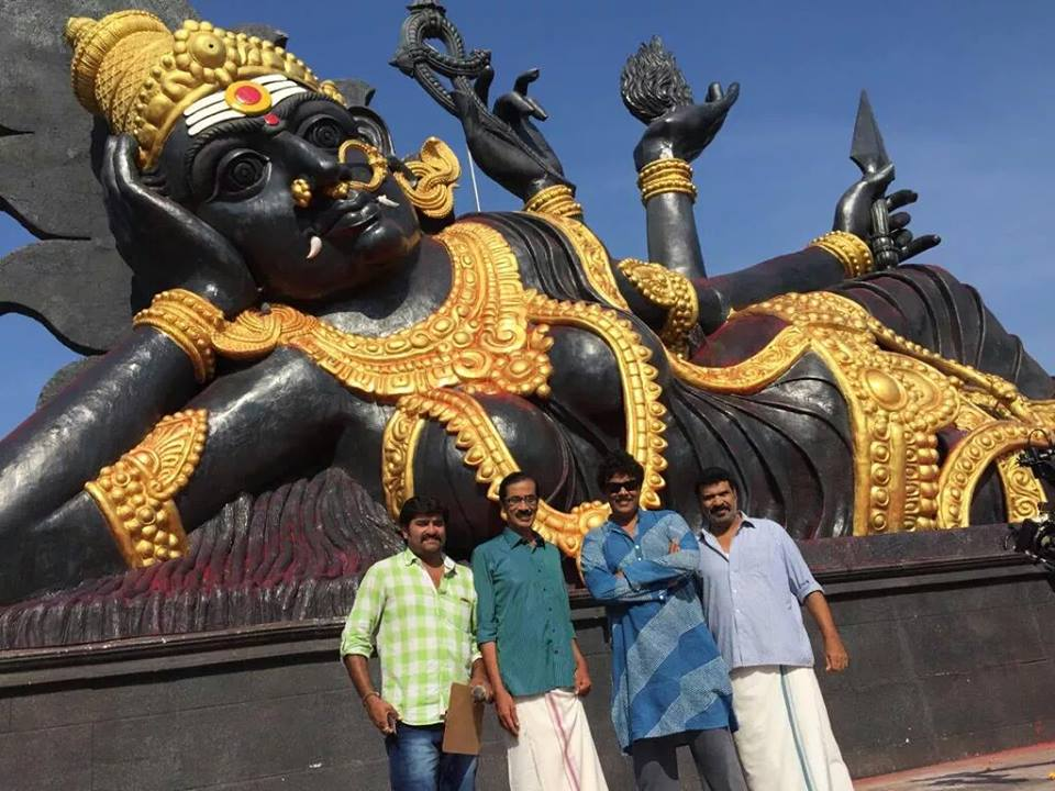 'Aranmanai 2' team creates Asia's largest goddess statue