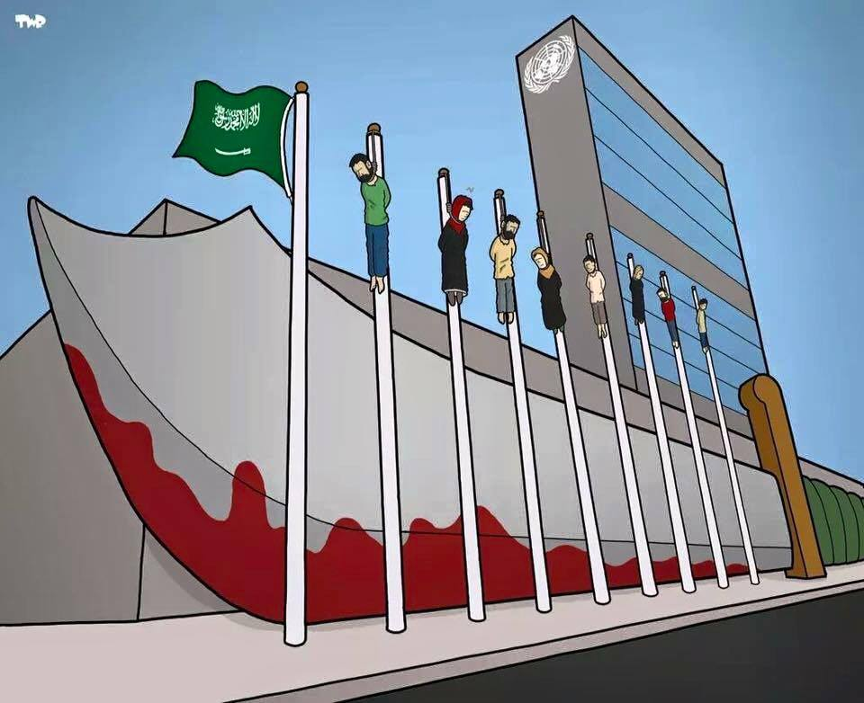 #Saudi Arabia leading UN #HumanRights panel proves that UN is nothing but a mockery of what a union of nations can be http://t.co/OxIaPW6CLg